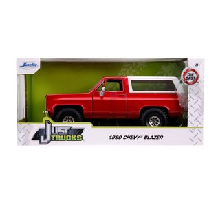 "JADA TOYS JAD 31594 Jada 1/24 ""Just Trucks"" 1980 Chevy K5 Blazer Off Road - Metallic Red"