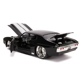 "JADA TOYS JAD 31653 Jada 1/24 ""BIGTIME Muscle"" 1971 Chevy Chevelle SS - Glossy Black"