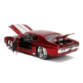"JADA TOYS JAD 31654 Jada 1/24 ""BIGTIME Muscle"" 1971 Chevy Chevelle SS - Candy Red"
