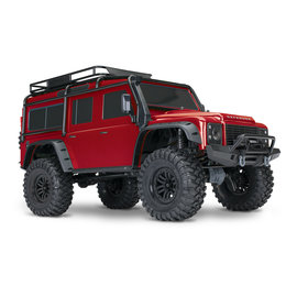 TRAXXAS TRA 82056-4-RED TRX4 Land Rover CRAWLER RTR RED