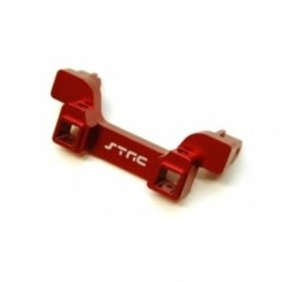 STR ST8237RR Aluminum Heavy Duty Rear Bumper Mount, TRX-4 ,RED