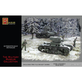 PGH PGH 7671 T26 TANKS 1/72 MODEL KIT (2 TANKS)