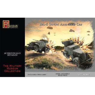 PGH PGH 7672 BA6 ARMORED CAR 1/72 MODEL KIT (2 CARS)