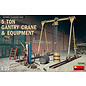 MINIART MNA 35589 5 TON CRANE AND EQUIPMENT 1/35 MODEL KIT