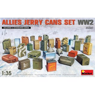 MINIART MNA 35587 ALLIES JERRY CANS 1/35 MODEL KIT