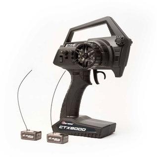 CIS 15644 CTX8000 2.4GHz FHSS 2-Channel Pistol Radio w/ 2 Receivers