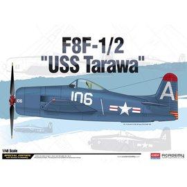 Academy/Model Rectifier Corp. ACA 12313 1/48 F8F-1/2 USS Tarawa Ltd. Ed. MODEL KIT