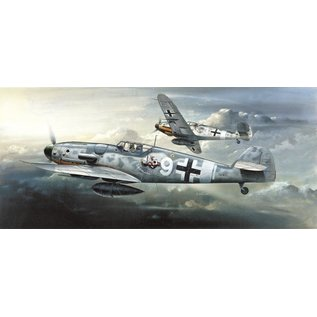 Academy/Model Rectifier Corp. ACA 12467 MESSERSCHMITT BF109 G6 MODEL KIT 1/72