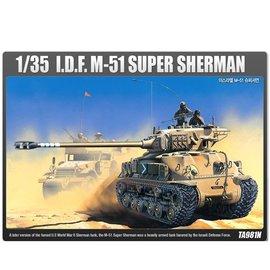 Academy/Model Rectifier Corp. ACA 13254 IDF M51 SUPER SHERMAN 1/35 MODEL KIT