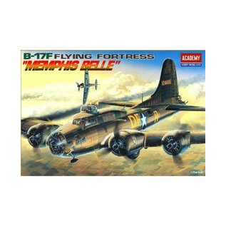 Academy/Model Rectifier Corp. ACA 12495 1/72 Boeing B-17F Memphis Belle MODEL KIT