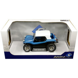SOLIDO SOL S1802701 MEYERS MANX BUGGY SOFT TOP BLUE 1/18 DIECAST