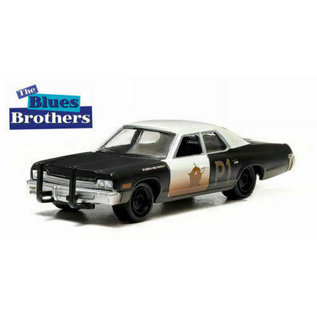 GREENLIGHT COLLECTABLES GLC 44710BB BLUESMOBILE 1/64 DIECAST BLUES BROTHERS