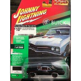 JOHNNY LIGHTNING JLC G015BUCKBLK 1967 BUICK GS 400 1/64 BLACK