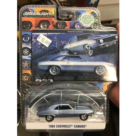 GREENLIGHT COLLECTABLES GLC 29976 BOWTIE 1969 CAMARO BFG AD 1/64