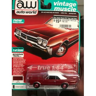 AUTOWORLD A/W 64232O 1966 OLDSMOBILE F85 1/64 LIMITED 1 OF 5500
