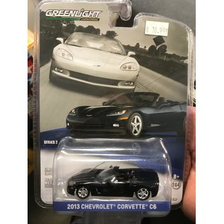 GREENLIGHT COLLECTABLES GRE 27875 GM COLLECTION SERIES 2 2013 CHEVROLET CORVETTE C6 CONVERTIBLE