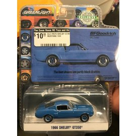 GREENLIGHT COLLECTABLES GLC 29975 SHELBY GT350 MUSTANG BFG 1966 1/64