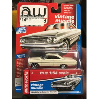 AUTOWORLD A/W 64222GAL 1964 FORD GALAXIE 500XL 1/64