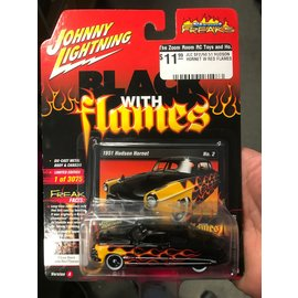 JOHNNY LIGHTNING JLC SF2760 51 HUDSON HORNET W RED FLAMES
