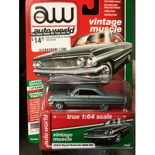 AUTOWORLD A/W 64222GAB 1964 FORD GALAXIE 500 XL 1/64