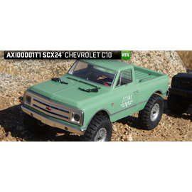 AXIAL RACING AXI 00001T1 SCX24 1967 CHEVY C10 READY TO RUN CRAWLER GREEN