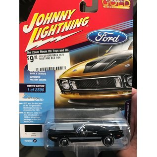 JOHNNY LIGHTNING JLC G016MUSBLK 1973 FORD MUSTANG BLACK 1/64