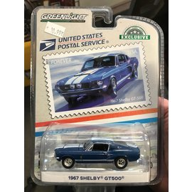 GREENLIGHT COLLECTABLES GLC 30067 SHELBY MUSTANG 1967 GT500 1/64 DIECAST