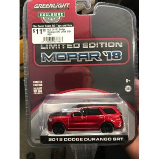 GREENLIGHT COLLECTABLES GLC 30131 Dodge Durango SRT 2018 1/64 RED