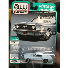 AUTOWORLD A/W 64232M 1967 Ford Mustang GTA 1/64