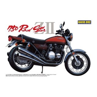 AOSHIMA AOS 41505 KAWASAKI 750 ROADSTER ZII 1/12 MODEL KIT