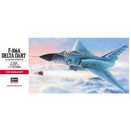 HASEGAWA HSG 00341 1/72 F-106A Delta Dart MODEL KIT