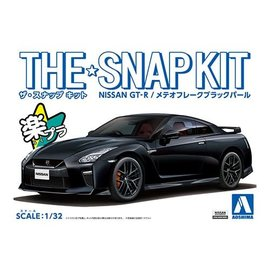 AOSHIMA AOS 56400 THE SNAP KIT Nissan GT-R BLACK