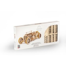 UGEARS UGR 70044 UGEARS U-9 Grand Prix CAR - 348 PIECES ADVANCED
