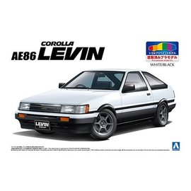 AOSHIMA AOS 54956 TOYOTA AE86 LEVIN '83 1/24 MODEL KIT