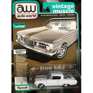 AUTOWORLD A/W 64232B 1965 PLYMOUTH CUDA FORMULA S