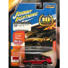 JOHNNY LIGHTNING JLC CP7006 DATSUN 280Z RED/ BLACK 1/64 LIMITED EDITION MIJO