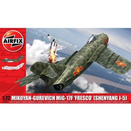 AIRFIX AIR 03091 MIKOYAN-GUREVICH MIG 17F 1/72 MODEL KIT