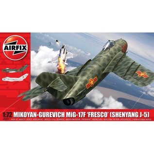AIRFIX AIR A03091 MIKOYAN-GUREVICH MIG-17F 'FRESCO' (SHENYANG J-5) 1/72 MODEL KIT