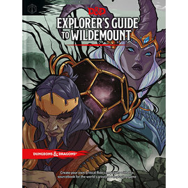 DUNGEONS & DRAGONS WTC C7270 EXPLORERS GUIDE TO WILDEMOUNT