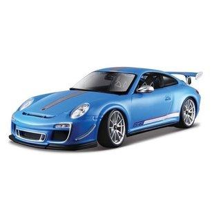 BURAGO BUR 11036BL PORSCHE 911 GT3 RS 4.0 BLUE 1/18 DIE CAST