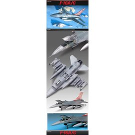 Academy/Model Rectifier Corp. ACA 12259 F16 A/C 1/48 MODEL KIT