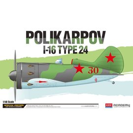 Academy/Model Rectifier Corp. ACA 12314 1/48 POLIKARPOV 1-16 TYPE 24 MODEL KIT