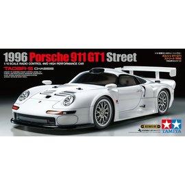 TAMIYA TAM 47443 1996 PORSCHE 911 GT1 TA03R KIT