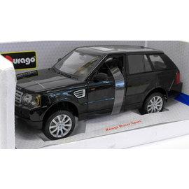 BURAGO BUR 12069BK Land Rover Range Rover SPORT 1/18 DIECAST