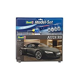 REVELL GERMANY REV 67057 Audi R8 1/24 COMPLETE SET