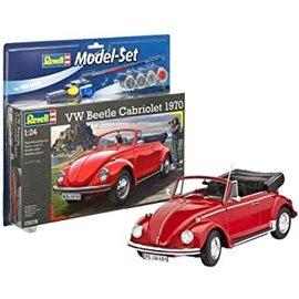 REVELL GERMANY REV 67078 VW BEETLE CABRIOLET COMPLETE SET 1/24