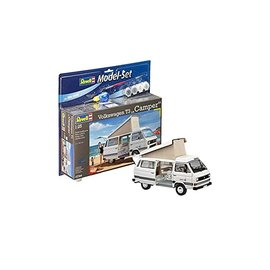 REVELL GERMANY REV 67344 VW T3 CAMPER VAN COMPLETE SET