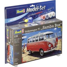 REVELL GERMANY REV 67399 VW SAMBA BUS T1 COMPLETE 1/24 SET
