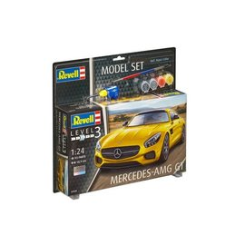 REVELL GERMANY REV 67028 MERCEDES AMG GT 1/24 COMPLETE SET