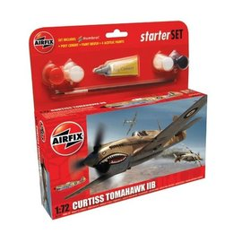AIRFIX AIR A55101 CURTISS TOMAHAWK IIB STARTER SET